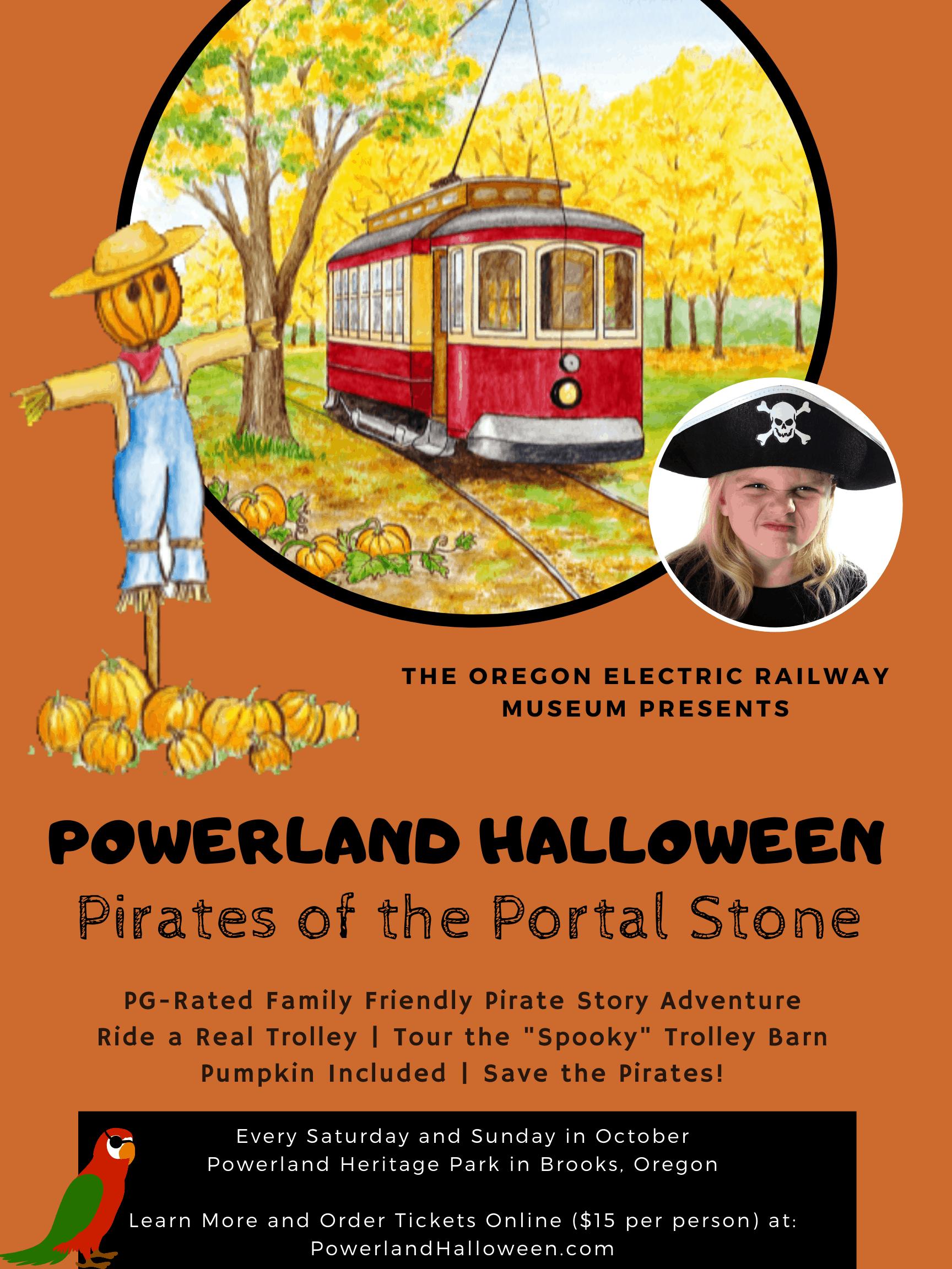 Powerland Halloween Poster